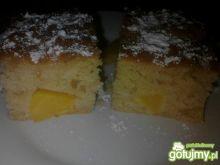 Ciasto jogurtowo-brzoskwiniowe