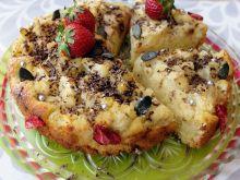 Ciasto jogurtowo-ryżowe z melonem