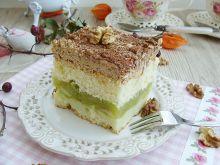 Ciasto kajmakowo-jabłkowe