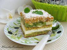 Ciasto kajmakowo-makowe z jabłkami