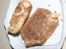 Ciasto kakaowe z bezą kokosową
