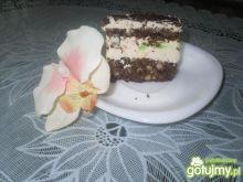 Ciasto kakaowe z galaretką.