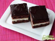 Ciasto kakaowe z masą śmietanową
