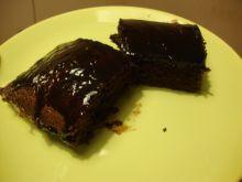 Ciasto kakaowe z polewą