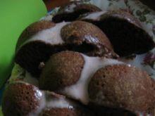 Ciasto kakaowo- jogurtowe z wiśniami