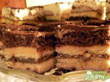 Ciasto kakaowo-krówkowe