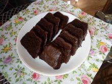 Ciasto kakaowo - orzechowo - dyniowe