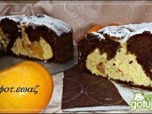 Ciasto kakaowo serowo mandarynkowe
