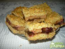 Ciasto karmelowo śliwkowe
