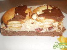 Ciasto kawowe z wiśniami