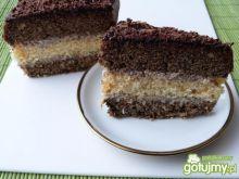 Ciasto kawowo-biszkoptowe z masą