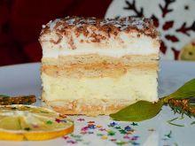 Ciasto kinder bueno kokosowe z krówką