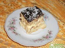 Ciasto kokosowe z ananasami