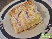 Ciasto kokosowe z brzoskwiniami