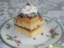 Ciasto kokosowo-orzechowe