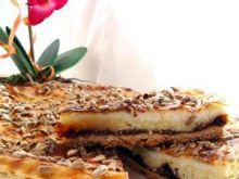 Ciasto Kokosowo-Powidłowe