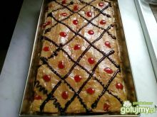 Ciasto krówkowe - miodownik inaczej