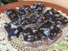 Ciasto krówkowe z migdałami