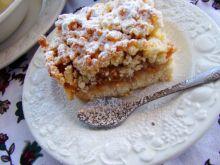 Ciasto kruche gruszkowo-jabłkowe
