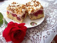 Ciasto kruche z czereśniami