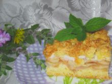 Ciasto kruche z jabłkami