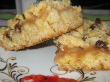 Ciasto kruche z musem jabłkowo dyniowym