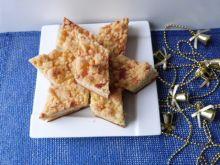 Ciasto krucho-drożdżowe z serem i kruszonką