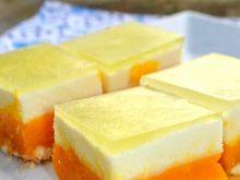 Ciasto Kubuś z masą śmietanową i galaretką