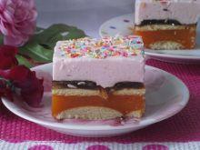 Ciasto kubusiowe z delicjami