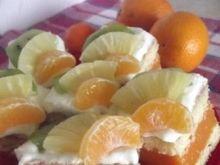 Ciasto Kubusiowe z owocami