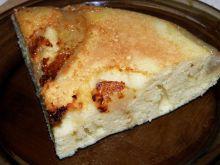 Ciasto kukurydziane z patelni - z gruszkami