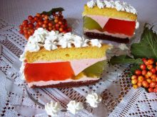 Ciasto letnie z galaretką