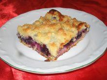 Ciasto lila z kruszonka