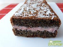 Ciasto makowe z białek