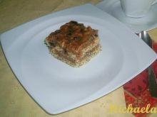 Ciasto makowe z polewą figowo-orzechową