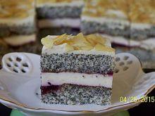 Ciasto makowe z serkiem homogenizowanym