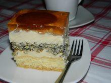Ciasto makowo-kokosowe z delicjami