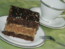 Ciasto makowo-orzechowe z masą kawową