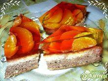 Ciasto mandarynkowe z galaretką