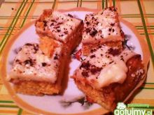 Ciasto marchewkowe z budyniem