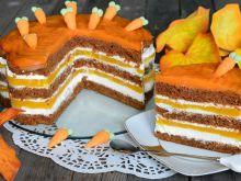 Ciasto marchewkowe z musem brzoskwiniowym