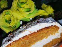 Ciasto marchewkowo - jabłkowe z kremem