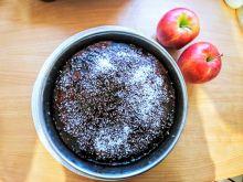 Ciasto marchewkowo - jabłkowe z orzechami