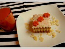 Ciasto marchewkowo - migdałowe