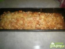 Ciasto marmurkowe z jabłkami