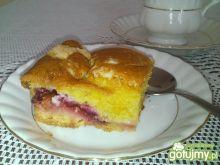 Ciasto maślane ze śliwkami z kruszonką