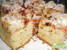 Ciasto maślankowe z owocami 2