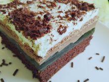Ciasto miętowo-czekoladowe