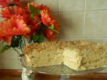 """Ciasto """"Migdałowiec"""""""