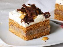 Ciasto miodowe z kremem czekoladowym